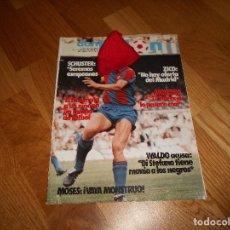 Coleccionismo deportivo: REVISTA DON BALÓN NÚMERO 410- AÑO IX 16/22 AGOSTO 1983- SCHUSTER, OSASUNA.. Lote 132378702