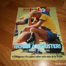 Coleccionismo deportivo: REVISTA DON BALON Nº 380 DEL 19 AL 26 DE ENERO DE 1983 PLANTILLA DEL REAL VALLADOLID. Lote 132465430