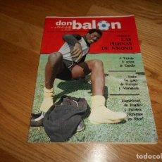 Coleccionismo deportivo: DON BALON Nº 367 1982 COLOR N' KONO ESPAÑOL- MARADONA , VALDANO. KEMPES MORETE LAS PALMAS. Lote 132469614