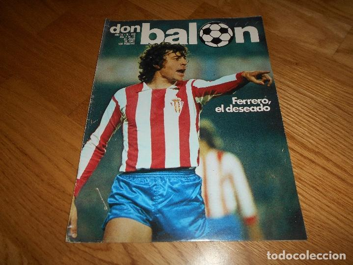 DON BALON Nº 300 ESTEBAN BARCELONA FERRERO SPORTING GIJON- MARIAN ATLETICO MADRID ANGEL REAL MADRID (Coleccionismo Deportivo - Revistas y Periódicos - Don Balón)