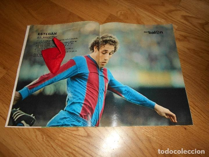 Coleccionismo deportivo: DON BALON Nº 300 ESTEBAN BARCELONA FERRERO SPORTING GIJON- MARIAN ATLETICO MADRID ANGEL REAL MADRID - Foto 5 - 132485474