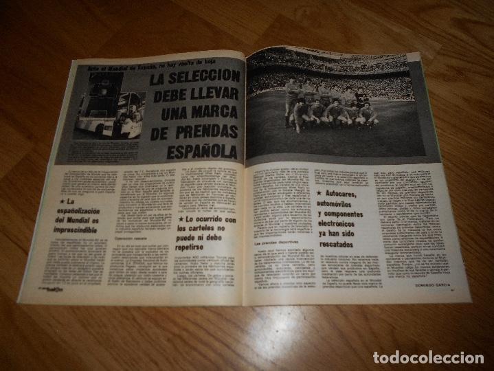 Coleccionismo deportivo: DON BALON Nº 300 ESTEBAN BARCELONA FERRERO SPORTING GIJON- MARIAN ATLETICO MADRID ANGEL REAL MADRID - Foto 6 - 132485474