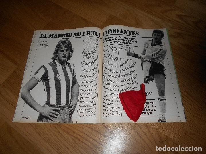 Coleccionismo deportivo: DON BALON Nº 300 ESTEBAN BARCELONA FERRERO SPORTING GIJON- MARIAN ATLETICO MADRID ANGEL REAL MADRID - Foto 7 - 132485474