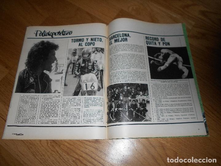 Coleccionismo deportivo: DON BALON Nº 300 ESTEBAN BARCELONA FERRERO SPORTING GIJON- MARIAN ATLETICO MADRID ANGEL REAL MADRID - Foto 8 - 132485474