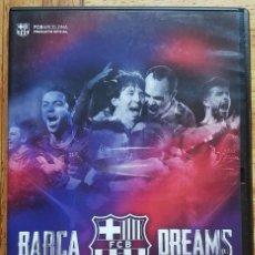 Coleccionismo deportivo: BARÇA DREAMS DVD . Lote 132610118