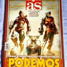 Coleccionismo deportivo: AS ESPECIAL EUROCOPA 2008. Lote 132611010