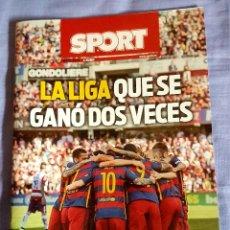 Coleccionismo deportivo: LA LIGA QUE SE GANÓ DOS VECES SUPLEMENTO SPORT . Lote 132611434