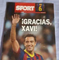 Coleccionismo deportivo: SPORT ESPECIAL XAVI. Lote 132611530