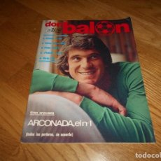 Colecionismo desportivo: DON BALON Nº 316 1981 PORTADA ARCONADA REAL SOCIEDAD - LUCAS CELTA VIGO SCHUSTER BARCELONA. Lote 132622658