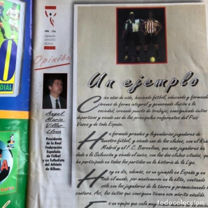 Coleccionismo deportivo: DON BALÓN N°41. ESPECIAL CENTENARIO DEL ATHLETIC CLUB, 1998. HISTORIA, ESTADÍSTICAS, FIGURAS,.., 82 - Foto 2 - 132659902