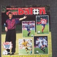 Coleccionismo deportivo: DON BALON NÚMERO 1012 - CRUYFF - DREAM TEAM - PÓSTER ALBACETE - BASILE - CHAMPIONS. Lote 132674382