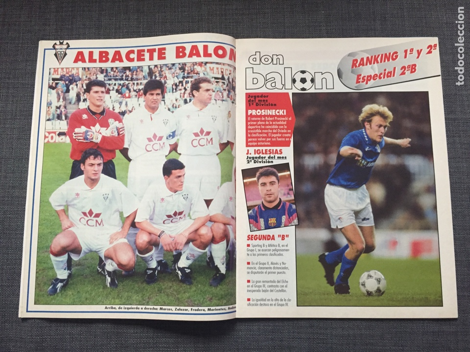 Coleccionismo deportivo: Don balon número 1012 - Cruyff - Dream Team - Póster Albacete - Basile - Champions - Foto 2 - 132674382