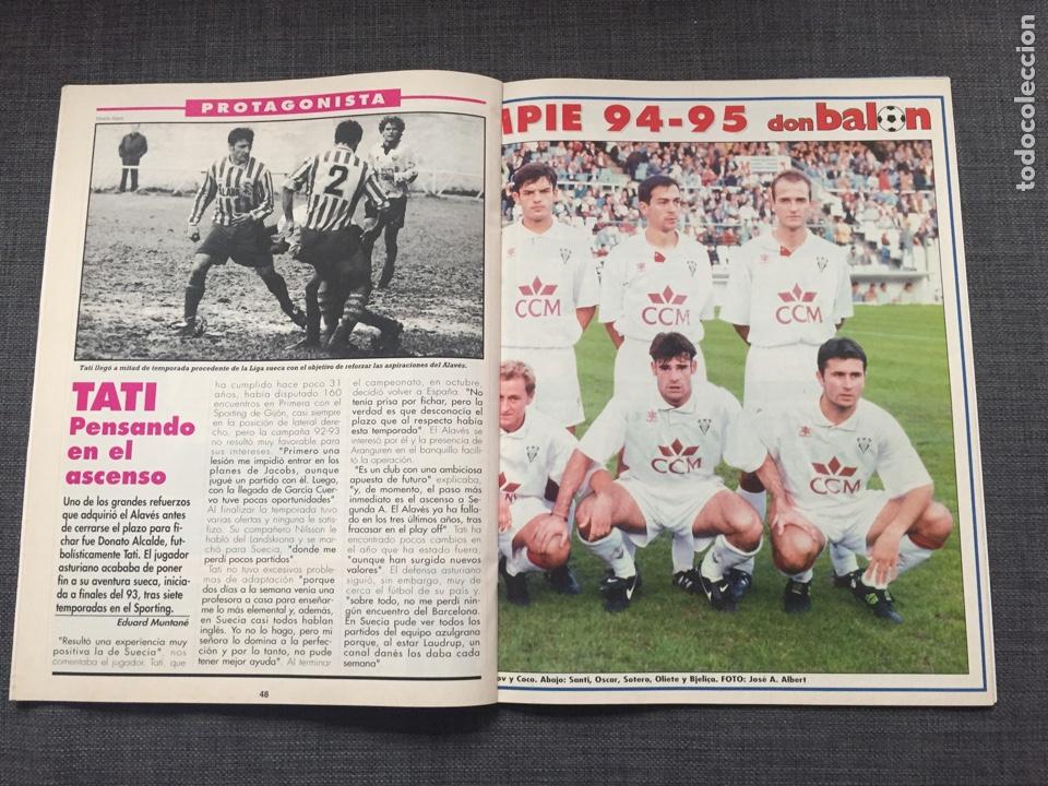 Coleccionismo deportivo: Don balon número 1012 - Cruyff - Dream Team - Póster Albacete - Basile - Champions - Foto 3 - 132674382