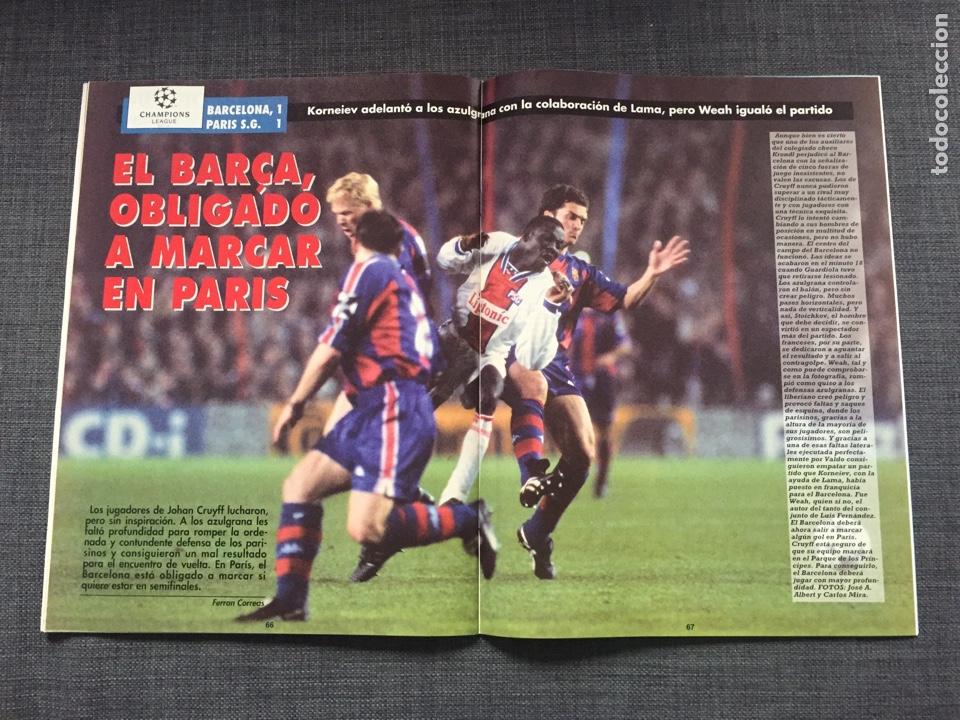 Coleccionismo deportivo: Don balon número 1012 - Cruyff - Dream Team - Póster Albacete - Basile - Champions - Foto 4 - 132674382