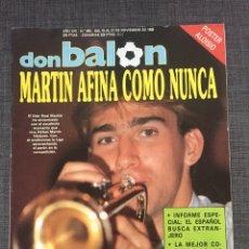 Coleccionismo deportivo: DON BALON NÚMERO 683 - MARTIN VÁZQUEZ - PÓSTER ALOISIO - COPAS EUROPEAS - ESPANYOL. Lote 132674801