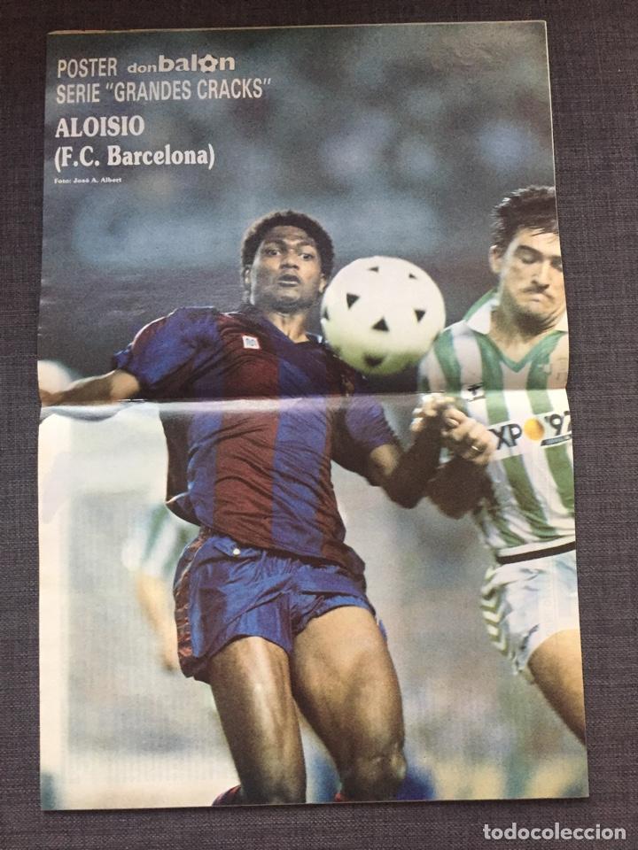 Coleccionismo deportivo: Don balon número 683 - Martin Vázquez - Póster Aloisio - Copas Europeas - Espanyol - Foto 2 - 132674801