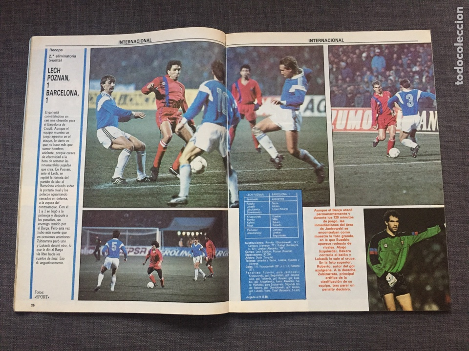 Coleccionismo deportivo: Don balon número 683 - Martin Vázquez - Póster Aloisio - Copas Europeas - Espanyol - Foto 4 - 132674801