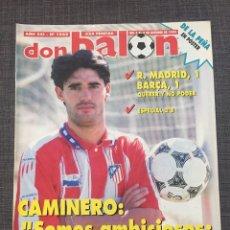 Coleccionismo deportivo: DON BALON 1042 - PÓSTER DE LA PEÑA - CAMINERO - ATLÉTICO - REAL MADRID - BARCELONA. Lote 132675285