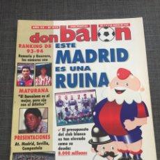 Coleccionismo deportivo: DON BALON 979 - REAL MADRID - ROMARIO - MATURANA - KARPIN - ATLÉTICO. Lote 132706023