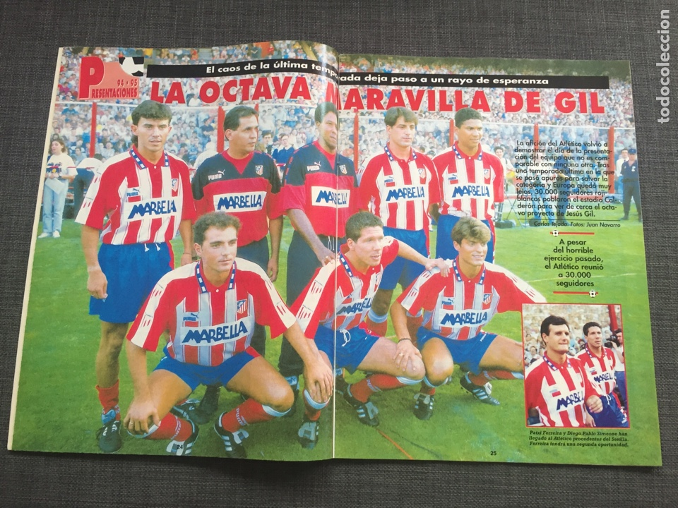 Coleccionismo deportivo: Don balon 979 - Real Madrid - Romario - Maturana - Karpin - Atlético - Foto 2 - 132706023