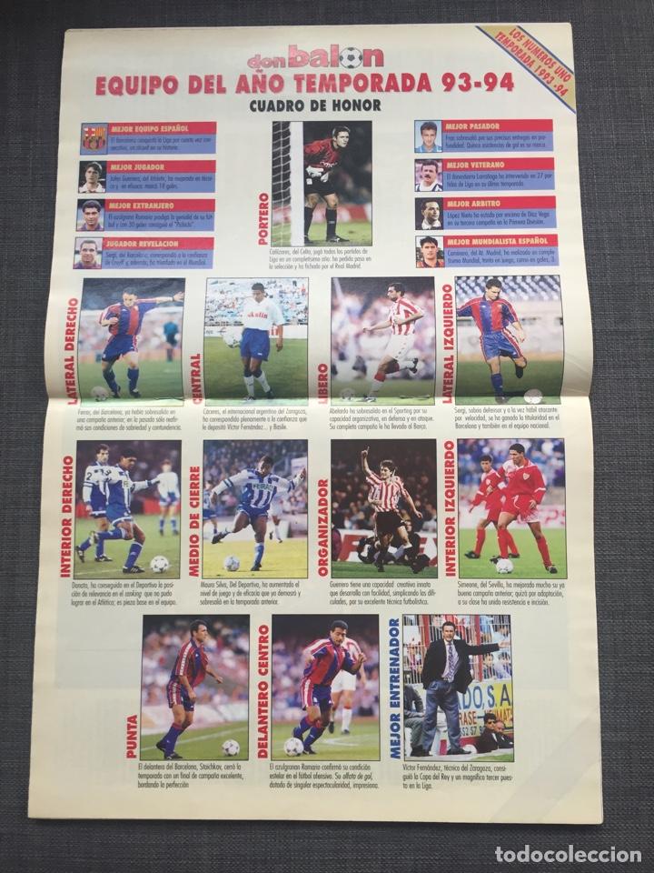 Coleccionismo deportivo: Don balon 979 - Real Madrid - Romario - Maturana - Karpin - Atlético - Foto 3 - 132706023