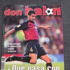 Coleccionismo deportivo: DON BALON 1265 - PÓSTER OVIEDO - GUARDIOLA - ATHLETIC. Lote 132711414