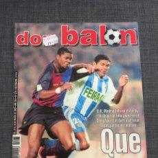 Coleccionismo deportivo: DON BALON 1275 - PÓSTER ETXEBERRIA - BARCELONA - RONALDINHO. Lote 132711642