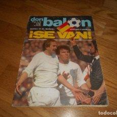 Coleccionismo deportivo: DON BALON 340 ABRIL 1982 PAGINAS CENTRALES LOPEZ UFARTE REAL SOCIEDAD STILIKE SE VA. Lote 132757102