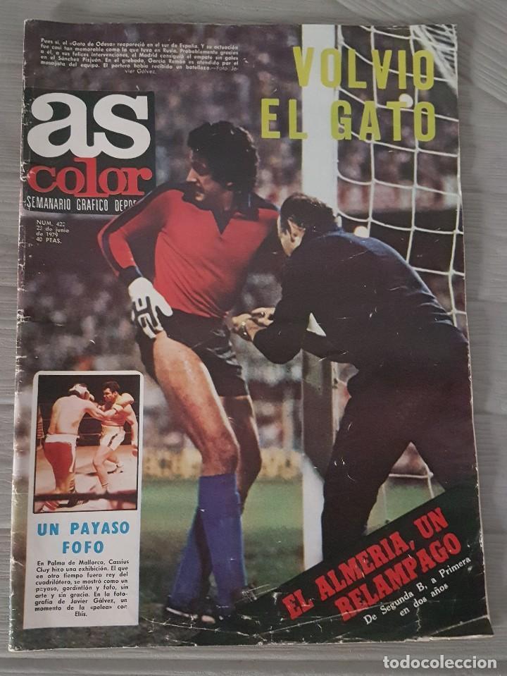 AS COLOR (Coleccionismo Deportivo - Revistas y Periódicos - As)