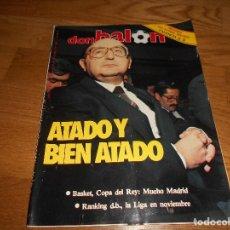 Coleccionismo deportivo: REVISTA DON BALON.AÑO 1984.NUMERO 478.BUEN ESTADO,CON UN ESPECIAL Y POSTER DEL R.MADRID DE BASKET. Lote 132822598