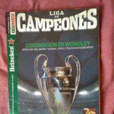 Coleccionismo deportivo: LIGA DE CAMPEONES 2010 Y CD CON LAS MEJORES JUGADAS.. Lote 132973342