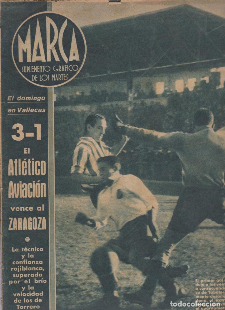 MARCA-- SUPLEMENTO GRÁFICO DE LOS MARTES -- Nº 1 -- 1/12/1942 (Coleccionismo Deportivo - Revistas y Periódicos - Marca)