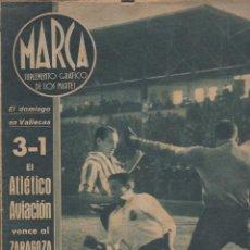 Coleccionismo deportivo: MARCA-- SUPLEMENTO GRÁFICO DE LOS MARTES -- Nº 1 -- 1/12/1942. Lote 133043198