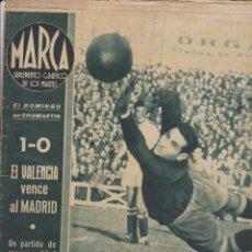 Colecionismo desportivo: MARCA-- SUPLEMENTO GRÁFICO DE LOS MARTES -- Nº 5 --29/12/1942. Lote 133044358