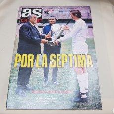 Coleccionismo deportivo: AS COLOR , POR LA SEPTIMA , N°523 , CON POSTER CENTRAL , MAYO-JUNIO 1981. Lote 133286762