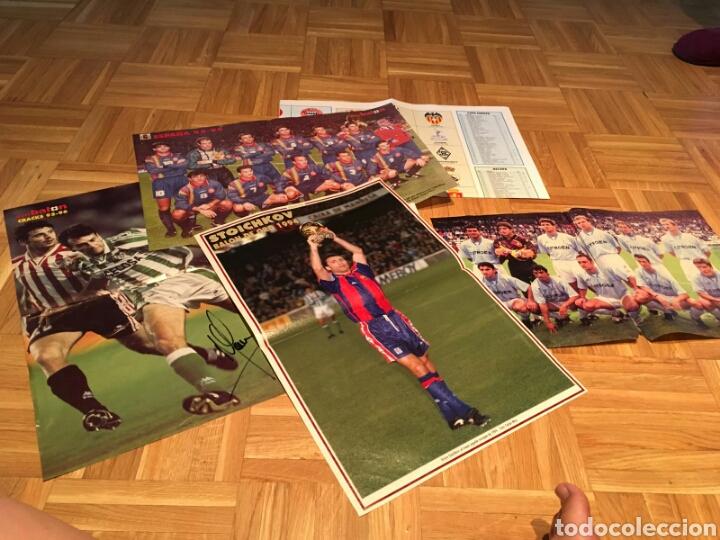 LOTE POSTERS DE FUTBOL Y FIRMAS (Coleccionismo Deportivo - Revistas y Periódicos - Don Balón)