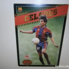 Coleccionismo deportivo: FC BARCELONA CELADES SPORT. Lote 133373710