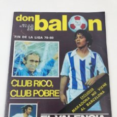 Coleccionismo deportivo: DON BALON NUMERO 241 MAYO 1980 VALENCIA CF CAMPEON RECOPA POSTER KEMPES BONHOFF, REAL SOCIEDAD.. Lote 133503129