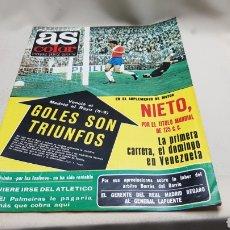 Coleccionismo deportivo: AS COLOR, GOLES SON TRIUNFOS, N ° 356, MARZO 1978, POSTER DE SOLSONA. Lote 133531159