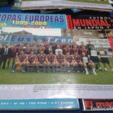Colecionismo desportivo: MINI POSTER DON BALON LIGA 97 - 98 ( S.D. EIBAR ). Lote 133592682