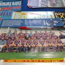 Colecionismo desportivo: MINI POSTER DON BALON LIGA 96 - 97 ( SD EIBAR ). Lote 133611718