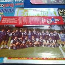 Collectionnisme sportif: MINI POSTER DON BALON LIGA 96 - 97 ( REAL OVIEDO CF ). Lote 133613566