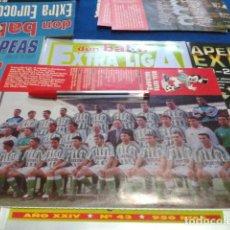 Collectionnisme sportif: MINI POSTER DON BALON LIGA 96 - 97 ( REAL BETIS BALOMPIE ). Lote 133613734