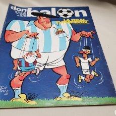 Coleccionismo deportivo: REVISTA DON BALON , LA REAL CAMPEON, N° 342, MAYO 1982. Lote 133616619