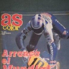 Coleccionismo deportivo: AS COLOR ARRANCA EL MUNDIAL DE MOTOS 1991. Lote 133627602