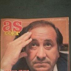 Coleccionismo deportivo: AS COLOR ENERO 1991 JESUS GIL ESE DESCONOCIDO. Lote 133628894