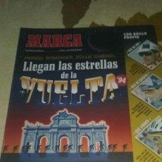 Colecionismo desportivo: GUIA MARCA VUELTA CICLISTA A ESPAÑA 1994.40 PAGINAS. PERFECTO ESTADO. Lote 133659298