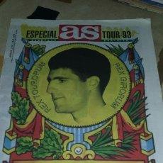 Coleccionismo deportivo: GUIA AS TOUR DE FRANCIA 1993. 32 PAGINAS. PERFECTO ESTADO. Lote 133660766