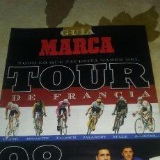 Coleccionismo deportivo: GUIA MARCA TOUR DE FRANCIA 1998. 32 PAGINAS. PERFECTO ESTADO. Lote 133661310