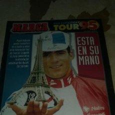 Coleccionismo deportivo: GUIA MARCA TOUR DE FRANCIA 1995. 40 PAGINAS. PERFECTO ESTADO. Lote 133662018